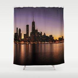 Chicago Skyline - new! Shower Curtain