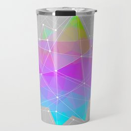 The Dots Will Somehow Connect (Geometric Star) Travel Mug