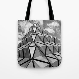 The Architectural Cladding from Leeds University Car Park Tote Bag