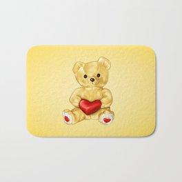 Teddy Bear Hypnotist Bath Mat