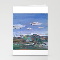 country Stationery Cards featuring Country by Thomas Madden