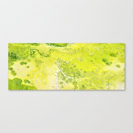 Green Water 3 Canvas Print