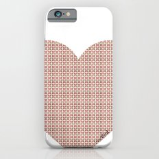 I love you this much... (light purple) iPhone 6s Slim Case
