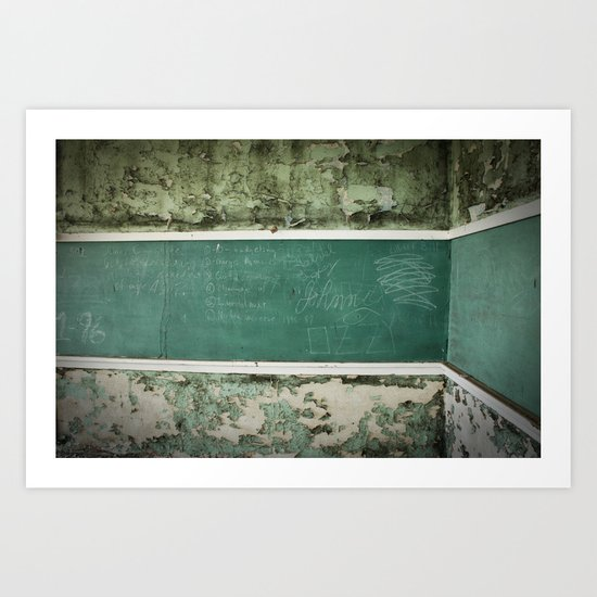 School Is Out Art Print