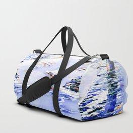 Cool Polar Bear Road block 01-01 Duffle Bag