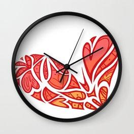 San Valentin Wall Clock