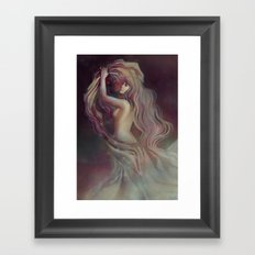Who Hangs the Stars at Night? Framed Art Print