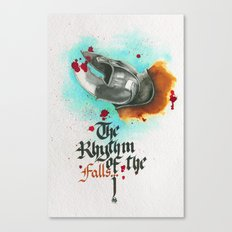 The rhythm of the falls Canvas Print