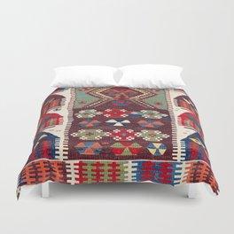 Sivrihisar Anatolian Niche Kilim Duvet Cover