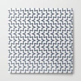 Sea Urchin - Navy #494 Metal Print
