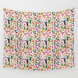 Doggy Park Wall Tapestry