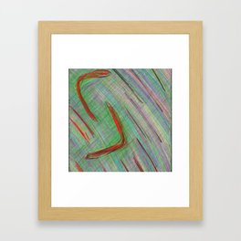 the year/ das Jahr Framed Art Print