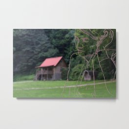 Temporary Home Metal Print