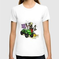 jeep T-shirts featuring Jeep Creep by CreepWerks