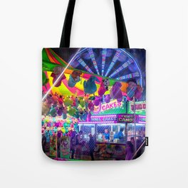 Fun Fun and Funnel Cakes at the carnival Tote Bag