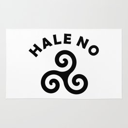 Hale No - Teen Wolf Rug