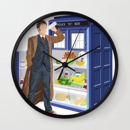 The Doctor Refreshes Wall Clock