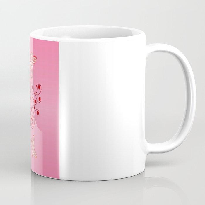 Butterflies and Hearts Coffee Mug