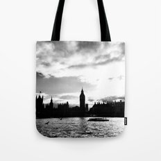 A different shade: B&W Tote Bag
