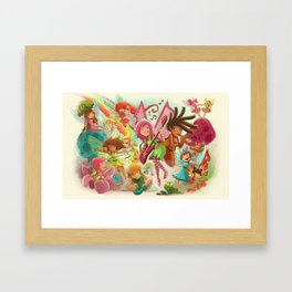 Goblins Drool, Fairies Rule! - Team Fairy Framed Art Print
