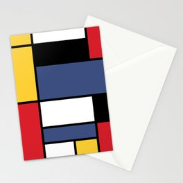 Abstraction color Stationery Cards