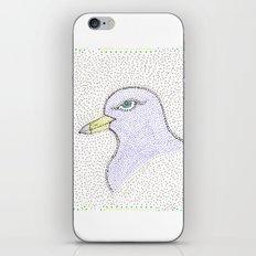 Dotted Bird #1 iPhone & iPod Skin