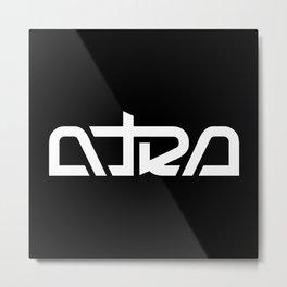 Atra Aeterna - Pipes Logo Metal Print