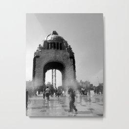 bw monument Metal Print