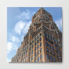 Art Deco Downtown Brooklyn Metal Print