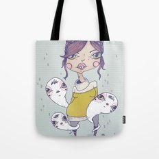 Howdy - From a girl with ghosts Tote Bag