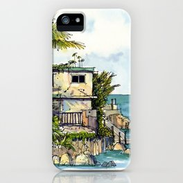 Hemingway's Cuba:  View from La Terraza iPhone Case