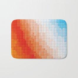 Square Color Space Bath Mat