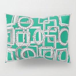 picture frames aplenty green Pillow Sham