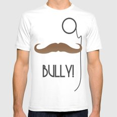 Bully MEDIUM Mens Fitted Tee White