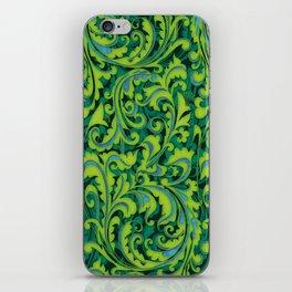 Verdant Victorian Vegetation iPhone Skin