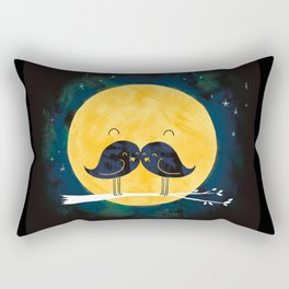 Moonstache Rectangular Pillow