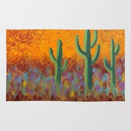 Saguaros Dreaming Rug