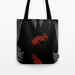 Murder Suit Tote Bag