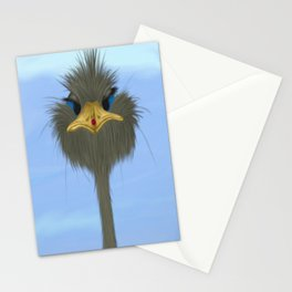 George And His Visitor Stationery Cards