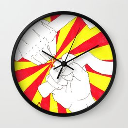 Real Comrades Brofist (Oliver Ryder)  Wall Clock