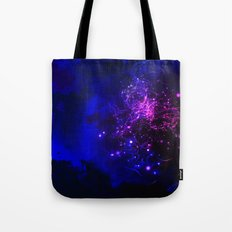 Mysterious Galaxy Tote Bag