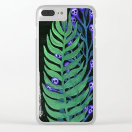 garden flowers Clear iPhone Case