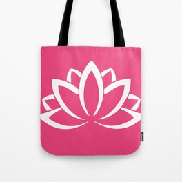 The white lotus Tote Bag