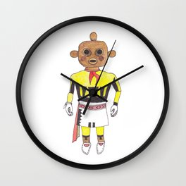 Kachina Doll Wall Clock