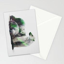 Arctic Polar Bear Family Stationery Cards