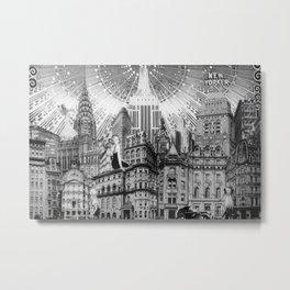 New York Dame Metal Print