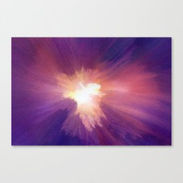 In the Confusion Canvas Print