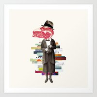 meat Art Prints featuring Meat by Oleg Borodin