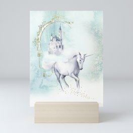 Unicorn magic Mini Art Print