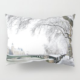 Notre-Dame Bridge,Paris Pillow Sham